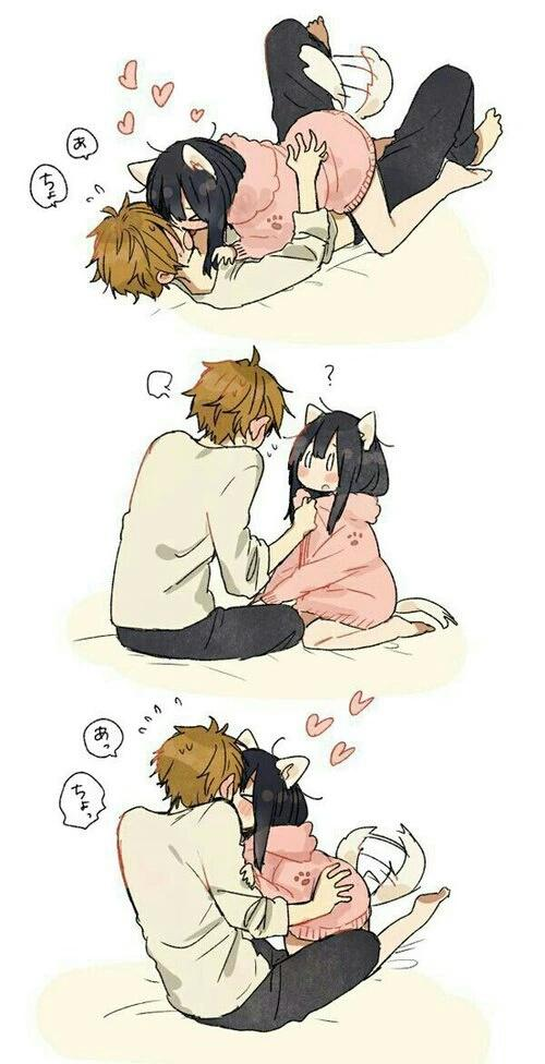 Anime Funny Couple Pictures, Images & Photos | Photobucket