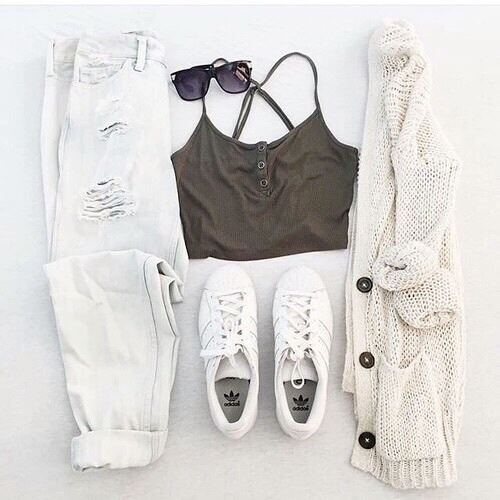 outfit, goals, fashion - image #4182277 by marine21 on Favim.com
