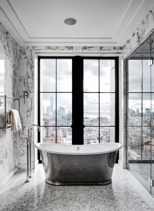 Marble goals image 4206957 by winterkiss on for Small bathroom goals