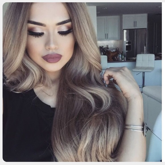 Hairstyle Goals : lips, matte, hairstyles, makeup, goals - image #4241937 by marine21 on ...