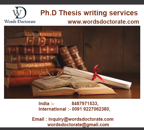 Phd thesis writing services in mumbai tiger