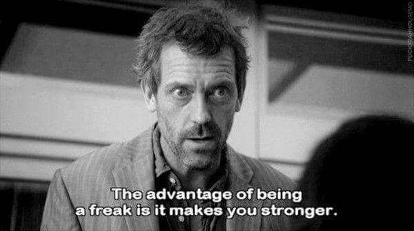 the advantage of being stupid