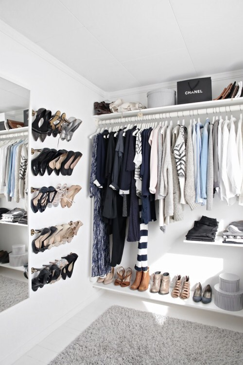 bags, black, closet, clothes, clothing