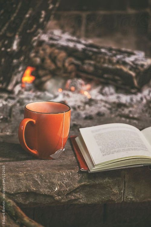 autumn, book, clothes, coffee, cozy