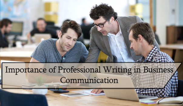importance of writing academically and professionally decorated