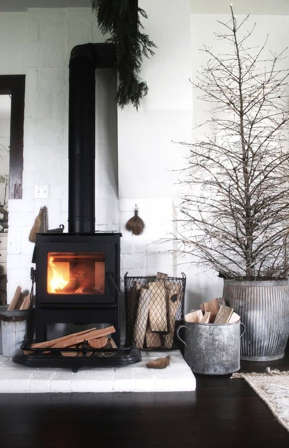 christmas, cozy, fireplace, home, home decor